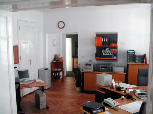 Büro der Steuerberatungskanzlei Polly